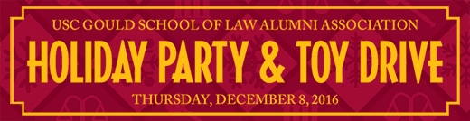 USC Alumni Holiday Party