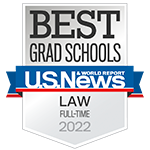 U.S. News & World Report: Best Grad Schools (Law) 2018