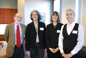 Paul Appelbaum, Elyn Saks, Susan Stefan and Kathi Stringer