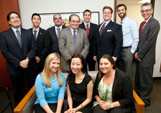 The Federalist Society board with Justice Scalia
