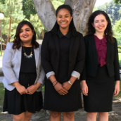 A Trio of Gould Grads Named Clinton Fellows