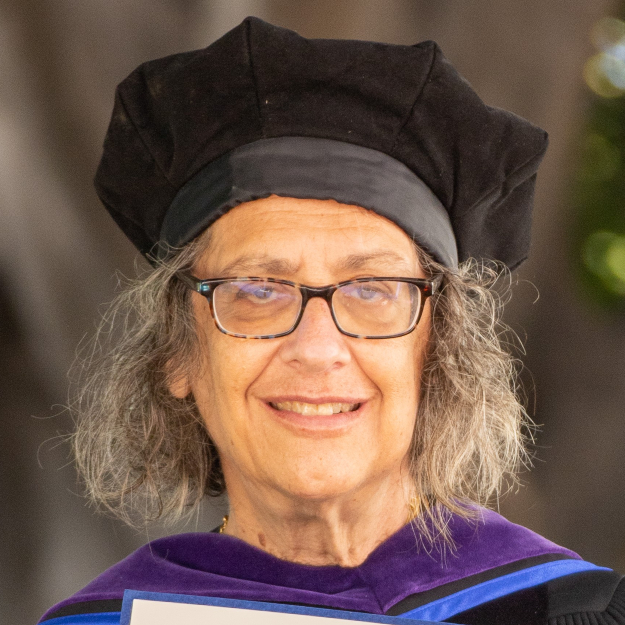 Professor Elyn Saks inspires William James College students with graduation speech