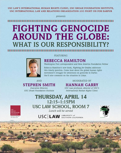 Fighting Genocide Around the Globe: What is Our Responsibility?